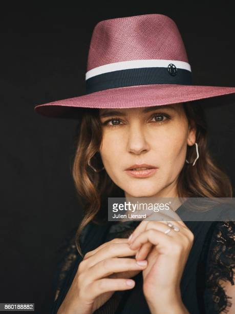 Actress Virginie Ledoyen is photographed for Self Assignment on May 22 2017 in Cannes France
