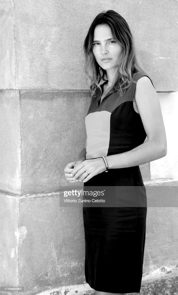 Actress Virginie Ledoyen poses for a portrait during the 66th Locarno Film Festival on August 11, 2013 in Locarno, Switzerland.