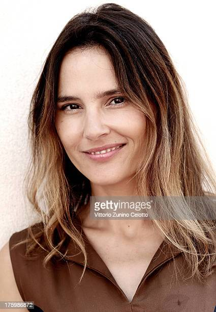 Actress Virginie Ledoyen poses for a portrait during the 66th Locarno Film Festival on August 11 2013 in Locarno Switzerland