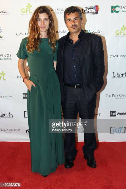 Actress Vittoria Puccini and Director Actor Paolo Genovese attend the Italian Contemporary Film Festival Opening Gala at Ritz Carlton on June 12 2014...