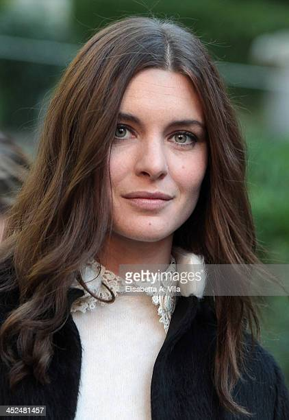 Actress Vittoria Puccini attends 'Anna Karenina' fiction TV photocall at Hotel De Russie on November 29 2013 in Rome Italy