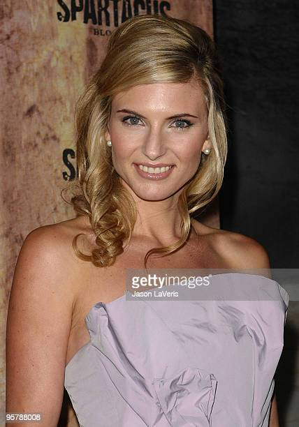 Actress Viva Bianca attends a screening of Spartacus Blood and Sand at the Billy Wilder Theater at the Hammer Museum on January 14 2010 in Los...