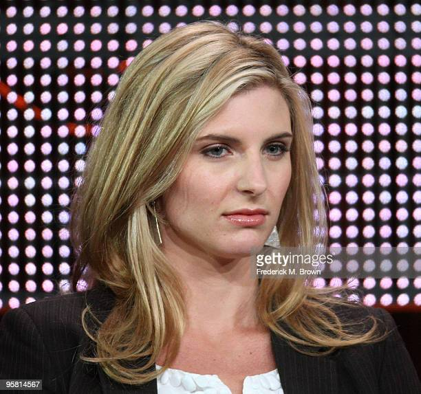 """Actress Viva Bianca of the television show """"Spartacus: Blood and Sand"""" speaks during the Starz Network portion of The 2010 Winter TCA Press Tour at..."""