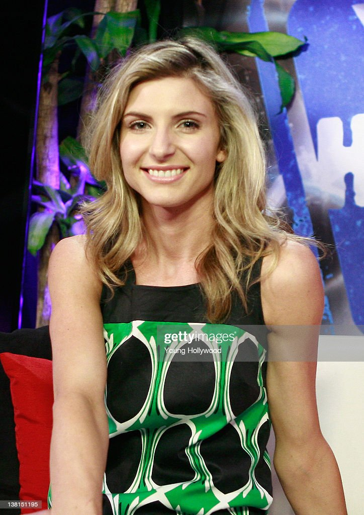 Actress Viva Bianca Visits Young Hollywood Studio On February   In Los Angeles