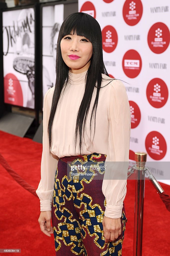 Actress Vivian Bang attends the opening night gala screening of 'Oklahoma!' during the 2014 TCM Classic Film Festival at TCL Chinese Theatre on April 10, 2014 in Los Angeles, California.