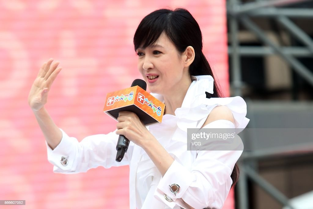 Vivian Chow Attends Press Conference In Taipei