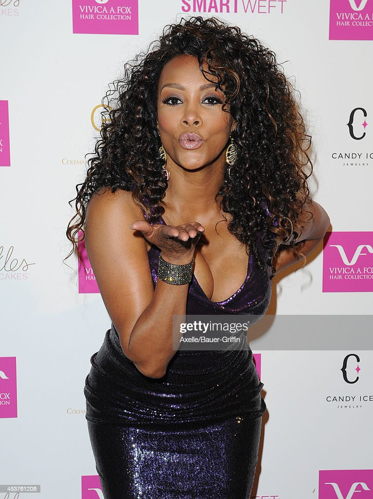 Actress Vivica A. Fox attends her 50th birthday celebration at Philippe Chow on August 2, 2014 in Beverly Hills, California.