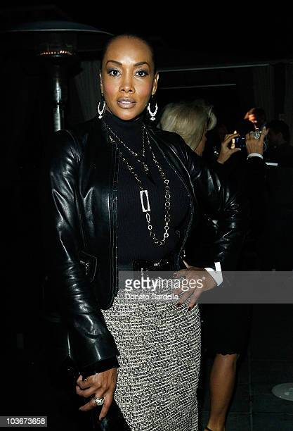 Actress Vivica A Fox attends Swarovski Celebrates the Oscars at the Thompson Hotel on February 18 2009 in Beverly Hills California