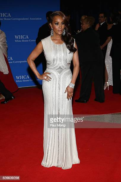 Actress Vivica A Fox attends the 102nd White House Correspondents' Association Dinner on April 30 2016 in Washington DC