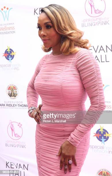 Actress Vivica A Fox attends the 10th Annual Pink Pump Affair Charity Gala Fundraiser at The Beverly Hills Hotel on May 20 2018 in Beverly Hills...