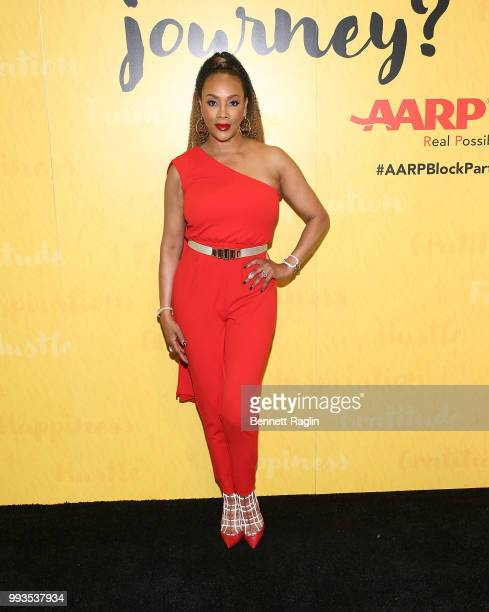 Actress Vivica A Fox attends the 2018 Essence Festival on July 7 2018 in New Orleans Louisiana