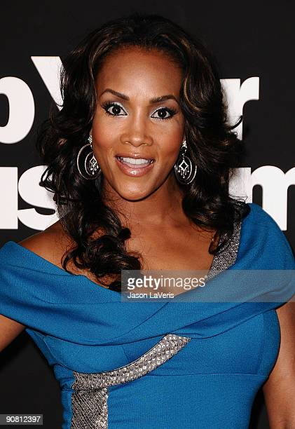 Actress Vivica A Fox attends the 7th season premiere of HBO's Curb Your Enthusiasm at Paramount Theater on the Paramount Studios lot on September 15...