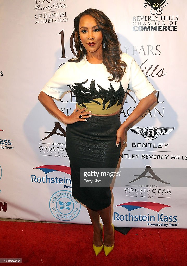 Actress Vivica A. Fox attends the Beverly Hills Camber of Commerce hosting