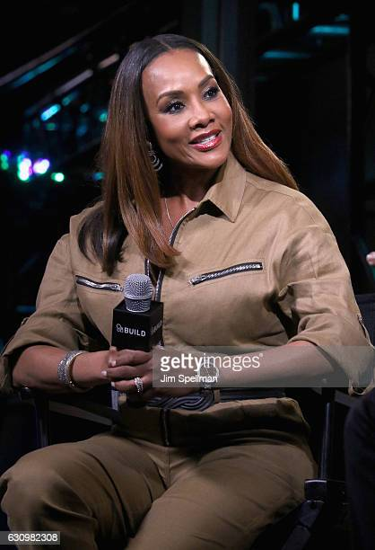 "Actress Vivica A. Fox attends the Build series to discuss ""Vivica's Black Magic"" at AOL HQ on January 4, 2017 in New York City."