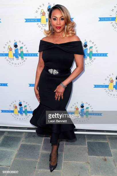 "Actress Vivica A. Fox attends the ""I Have A Dream"" Foundation's 5th Annual Los Angeles' Dreamer Dinner at Skirball Cultural Center on March 18, 2018..."