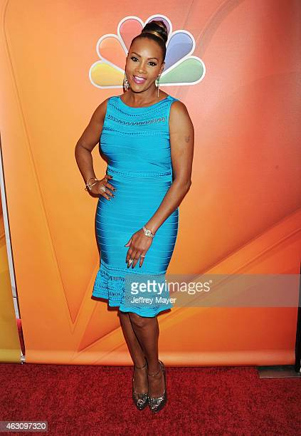 Actress Vivica A Fox attends the NBCUniversal 2015 Press Tour at the Langham Huntington Hotel on January 16 2015 in Pasadena California