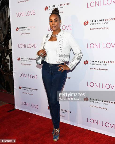 Actress Vivica Fox attends Loni Love's Birthday Roast benefiting the Dress For Success charity at Hollywood Improv on July 12 2017 in Hollywood...