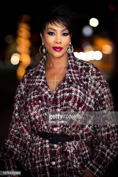 Actress Vivica Fox attends the Season 4 Private Cast Screening Of 'The Bay' at Garry Marshall Theatre on December 19 2018 in Burbank California
