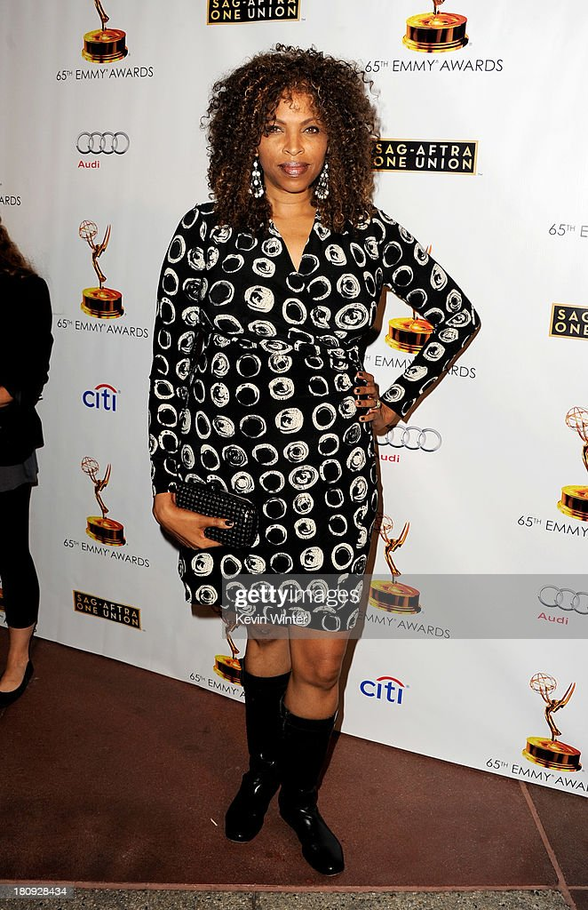 Actress Vivicca A. Whitsett arrives at The Academy of Television Arts & Sciences and SAG-AFTRA celebration of the 65th Primetime Emmy Award nominees at the Television Academy on September 17, 2013 in No. Hollywood, California.