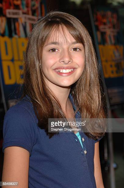 Actress Vivien Cardone attends the world premiere of Dirty Deeds at the Directors Guild of America on August 23 2005 in Los Angeles California