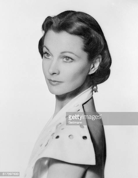 Actress Vivien Leigh currently starring on Broadway in Shakespeare's Anthony and Cleopatra 1951