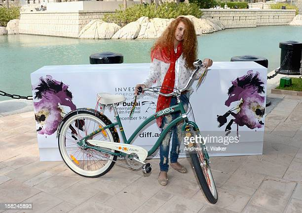 Actress Waad Mohammed attends the 'Wadjda' photocall during day four of the 9th Annual Dubai International Film Festival held at the Madinat Jumeriah...