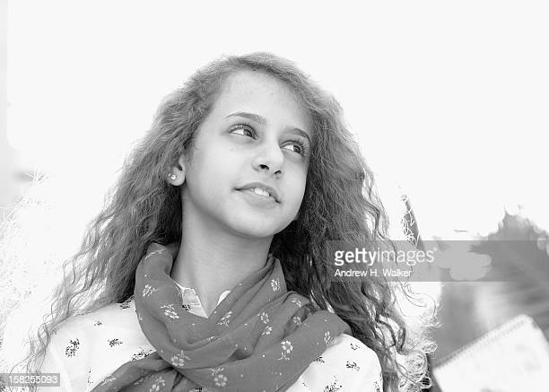 Actress Waad Mohammed during a portrait session on day four of the 9th Annual Dubai International Film Festival held at the Madinat Jumeriah Complex...