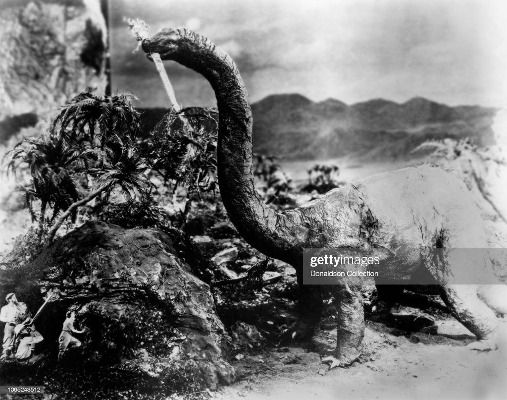 """The Lost World"" Film Still : News Photo"