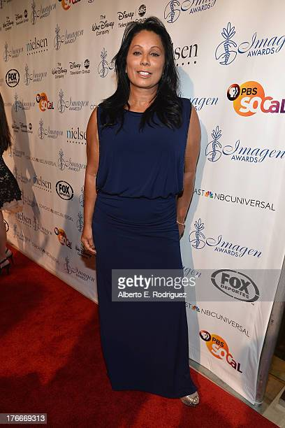 Actress Wanda De Jesus arrives to the 28th Annual Imagen Awards at The Beverly Hilton Hotel on August 16 2013 in Beverly Hills California