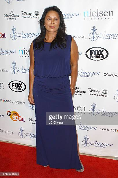 Actress Wanda De Jesus attends 28th Annual Imagen Awards at The Beverly Hilton Hotel on August 16 2013 in Beverly Hills California