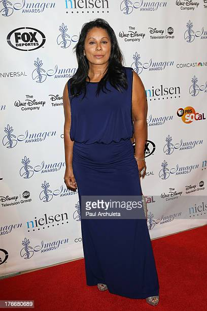 Actress Wanda De Jesus attends the 28th annual Imagen Awards at The Beverly Hilton Hotel on August 16 2013 in Beverly Hills California