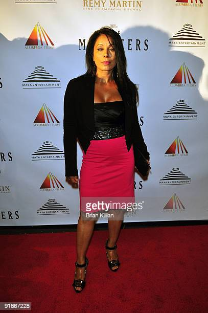 Actress Wanda De Jesus attends the premiere of The Ministers at Loews Lincoln Square on October 13 2009 in New York City