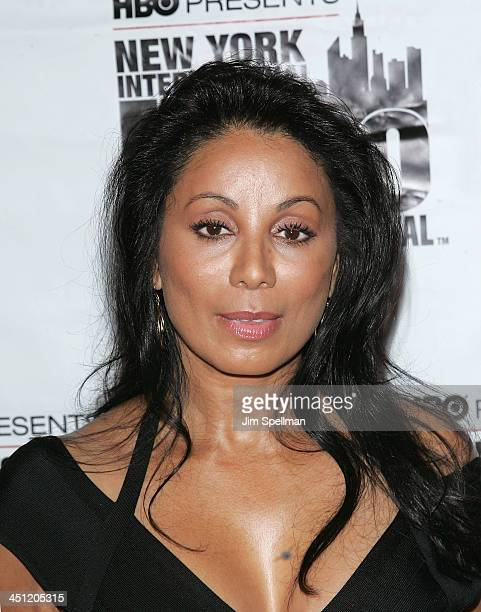 Actress Wanda De Jesus attends the premiere of The Ministers during the 9th annual New York International Latino Film Festival at the Directors Guild...
