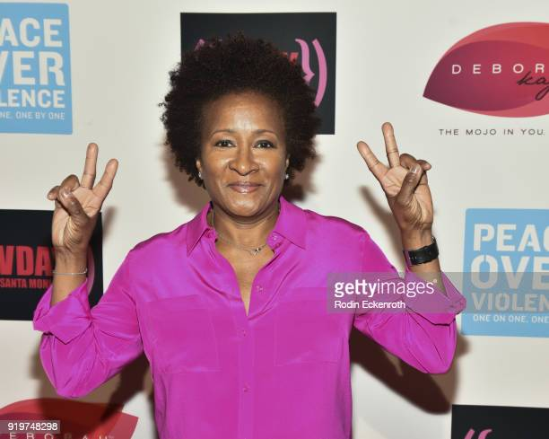 Actress Wanda Sykes attends the 20th Anniversary of VDay at The Broad Stage on February 17 2018 in Santa Monica California