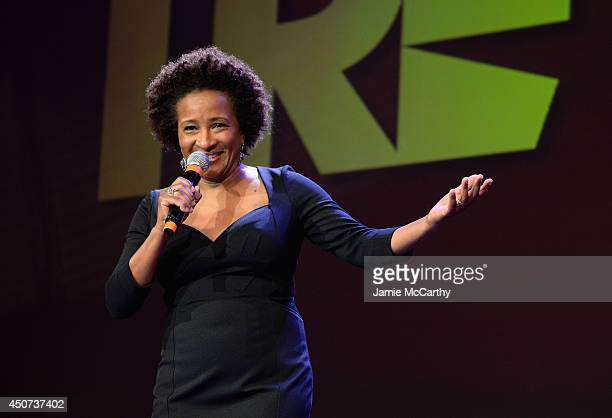 Actress Wanda Sykes hosts the Trevor Project's 2014 TrevorLIVE NY Event onstage at the Marriott Marquis Hotel on June 16 2014 in New York City