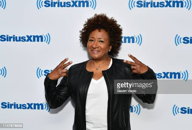 Actress Wanda SykesÊvisits SiriusXM Studios on June 3 2019 in New York City