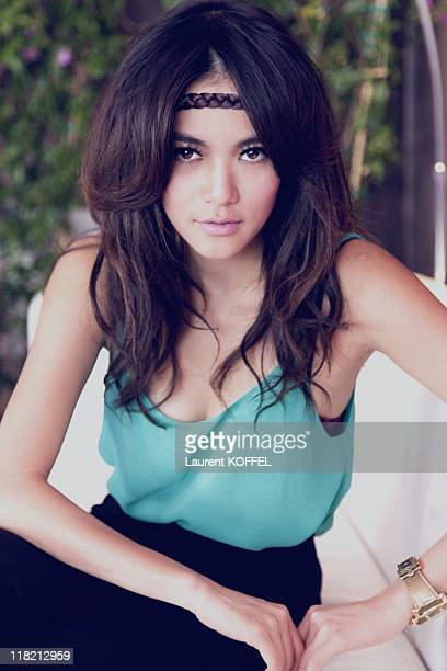 Actress Wanida Termthanaporn poses for a portrait on May 21 2009 in Cannes in France