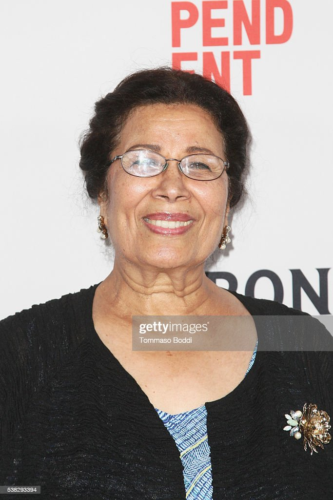 Actress Wedad Abdou attends the premiere of 'Namour' during the 2016 Los Angeles Film Festival at Arclight Cinemas Culver City on June 5, 2016 in Culver City, California.