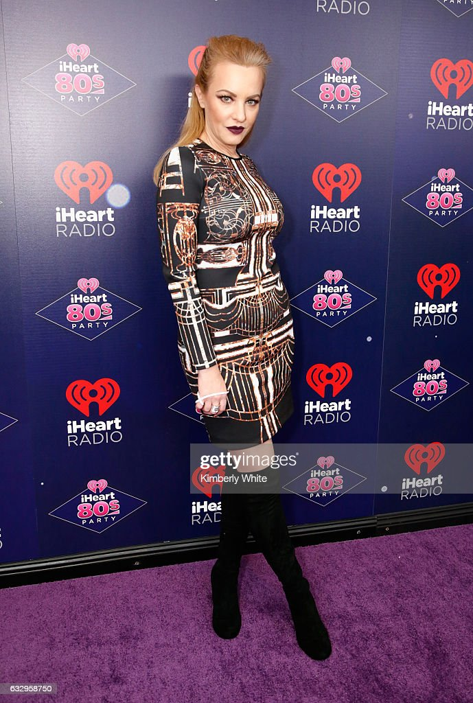 Actress Wendi McLendon Covey arrives at the iHeart80s Party 2017 at SAP Center on January 28, 2017 in San Jose, California.