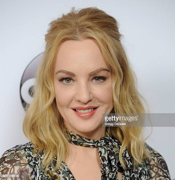 Actress Wendi McLendon-Covey arrives at the 2016 Winter TCA Tour - Disney/ABC at Langham Hotel on January 9, 2016 in Pasadena, California.