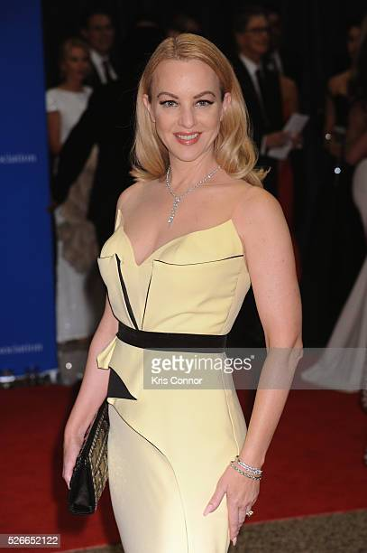 Actress Wendi McLendonCovey attends the 102nd White House Correspondents' Association Dinner on April 30 2016 in Washington DC