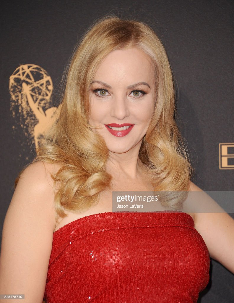 Actress Wendi McLendon-Covey attends the 2017 Creative Arts Emmy Awards at Microsoft Theater on September 10, 2017 in Los Angeles, California.