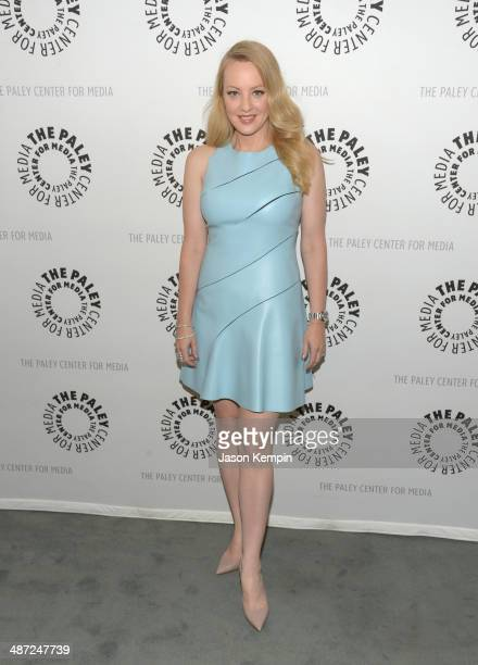 Actress Wendi McLendonCovey attends The Paley Center For Media Presents The Goldbergs Your TV Trip To The 1980's at The Paley Center for Media on...