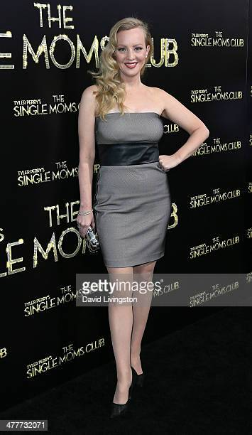 Actress Wendi McLendonCovey attends the premiere of Tyler Perry's The Single Moms Club at the ArcLight Cinemas Cinerama Dome on March 10 2014 in...