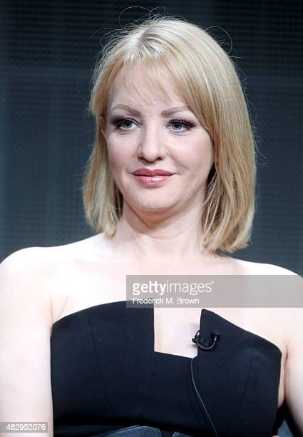 Actress Wendi McLendonCovey speaks onstage during the 'The Goldbergs' panel discussion at the ABC Entertainment portion of the 2015 Summer TCA Tour...