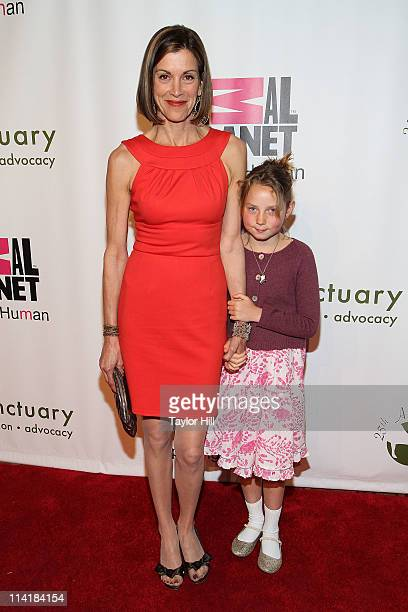 Actress Wendie Malick and niece Gwen Malick attend the Farm Sanctuary 25th Anniversary Gala at Cipriani Wall Street on May 14, 2011 in New York City.