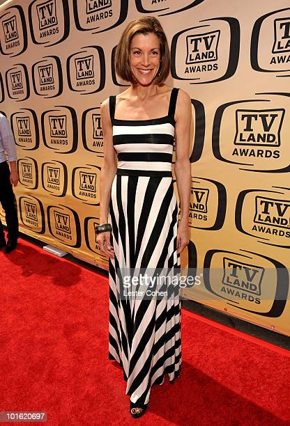Actress Wendie Malick arrives at the 8th Annual TV Land Awards at Sony Studios on April 17 2010 in Los Angeles California