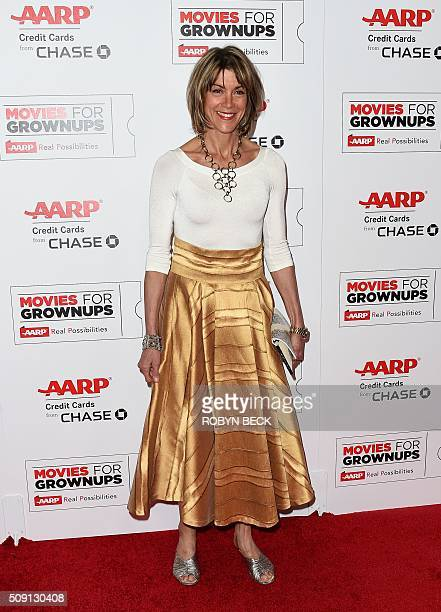 Actress Wendie Malick arrives for the 15th Annual Movies for Grownups Awards in Beverly Hills California February 8 2016 / AFP / ROBYN BECK