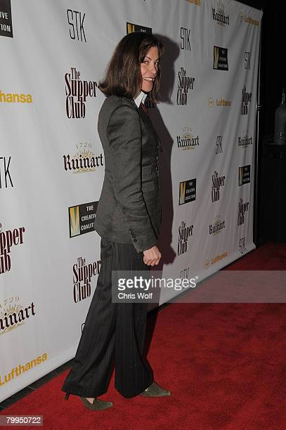Actress Wendie Malick at STK LA on February 22 2008 in Los Angeles California