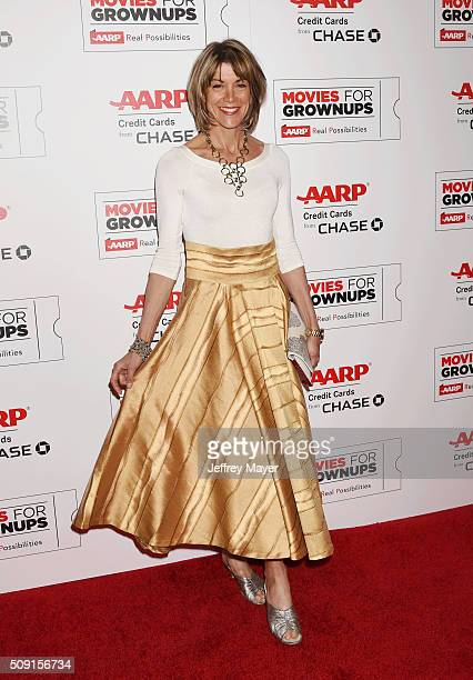 Actress Wendie Malick attends AARP's Movie For GrownUps Awards at the Regent Beverly Wilshire Four Seasons Hotel on February 8 2016 in Beverly Hills...